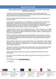 Basın Bülteni - Hacettepe Üniversitesi Nüfus Etütleri Enstitüsü