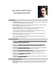Assoc. Prof. Dr. Mehmet Ali Eryurt (Last updated: 05 June 2013)