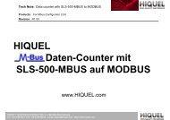 TechNote_SLS_MBUS_MO.. - Hiquel