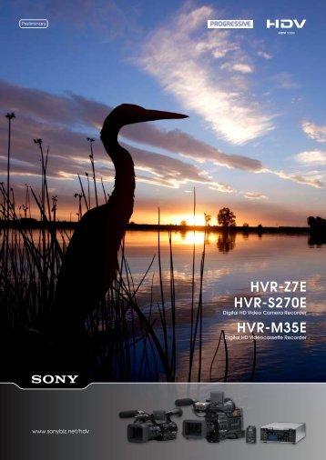 Sony hvr-m15au professional video cassete recorder/player.