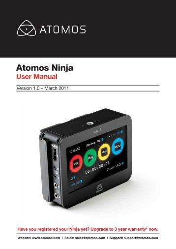 Atomos Ninja. User Manual