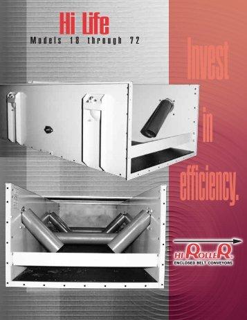 HiLife Brochure - Hi Roller Enclosed Belt Conveyors