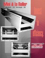 Mini & LoRoller Brochure - Hi Roller Enclosed Belt Conveyors