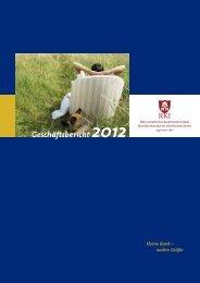 RKI Geschäftsbericht 2012 Download PDF 2,0 MB