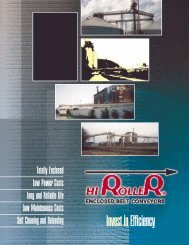 HiRoller Enclosed Belt Conveyors