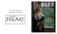 American Fine Art Magazine, Premier Issue - Hirschl & Adler Galleries