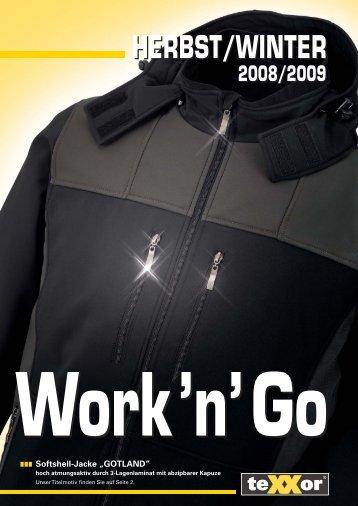 HERBST/WINTER 2008/2009 - BIG Arbeitsschutz Gmbh