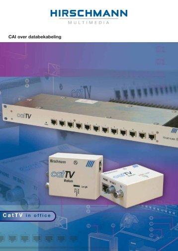CatTV brochure Nederlandstalig 2-1 - Hirschmann Multimedia