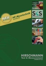 Stecker / Plugs - Hirschmann Multimedia