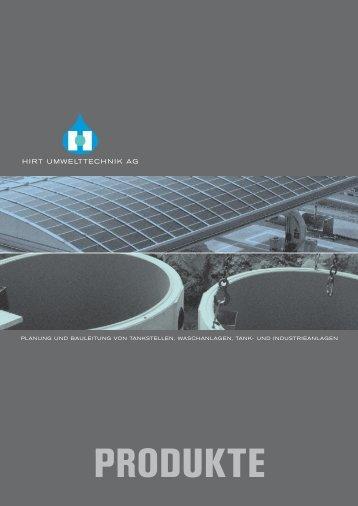 Produkte - Hirt Umwelttechnik AG