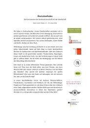 ÜberLebenReden - Hamburger Institut für Sozialforschung