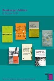 aktuelle Vorschau (PDF) - Hamburger Institut für Sozialforschung