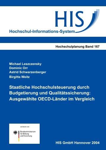 PDF-Fassung - Hochschul-Informations-System GmbH