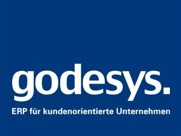 (Godesys AG) - ERP Software smart & sexy - HIS-Tagung