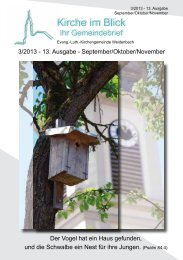 Ausgabe 13: 3/2013 - September/Oktober/November (pdf-Dokument)