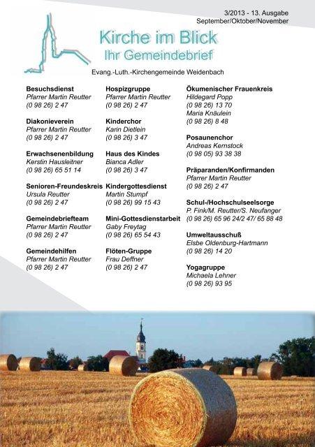 Ausgabe 13: 3/2013 - September/Oktober/November (pdf-Dokument)