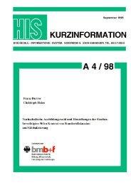 download - Hochschul-Informations-System GmbH
