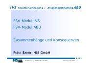 IVS-ABU Zusammenhänge und Konsequenzen - Hochschul ...