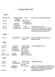 Wichtige Termine im Jahr 2013 - Bogensport-Kuhfelde.de