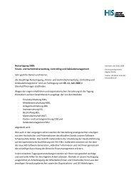 Nutzertagung 2008: Finanz- und Sachmittelverwaltung, Controlling ...