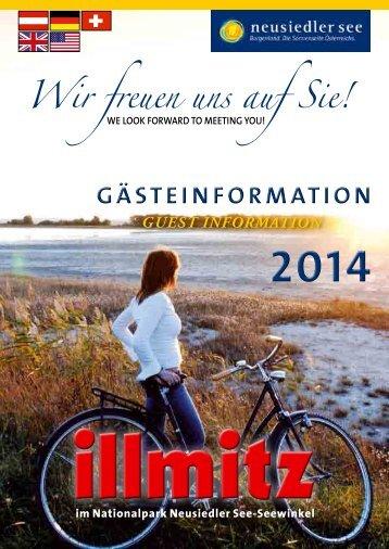 Ortsprospekt Illmitz 2014 DEUTSCH & ENGLISCH
