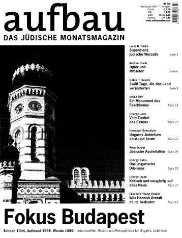 Schreiben an der Bruchstelle. Ungarisch-jüdische Autoren - Hist
