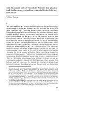 Der Historiker, die Spreu und der Weizen. Zur Qualität und ...