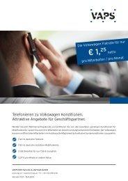 Produktflyer VW Rahmenvertrag.indd - VAPS EDV-Service ...