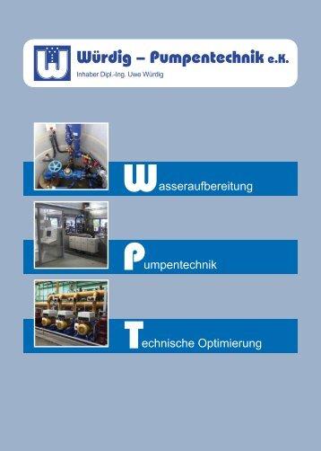 Firmenprospekt (Deutsch) - Würdig - Pumpentechnik