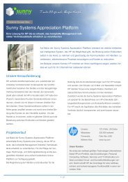 PDF-Download - Sunny Systems GmbH