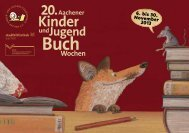 6. bis 30. November 2013 - Aachener Kinder- und ...