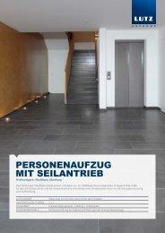 Wohnanlagen: Stadthaus, Hamburg - LUTZ Aufzüge