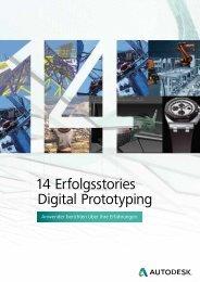 14 Erfolgsstories Digital Prototyping - Mensch und Maschine