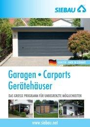 Infomaterial zum Download - garagen-systeme.de