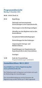 Flyer zum 5. Informationstag Exportkontrolle am 9. Dezember - Bafa - Seite 3