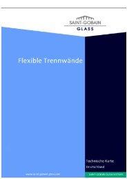 Flexible Trennwände - Saint-Gobain Glass
