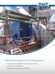 EMZ Hochspannungsmotoren & Antriebssysteme - Elektro ...