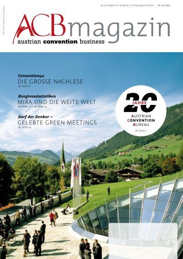 Download PDF - Austrian Convention Bureau