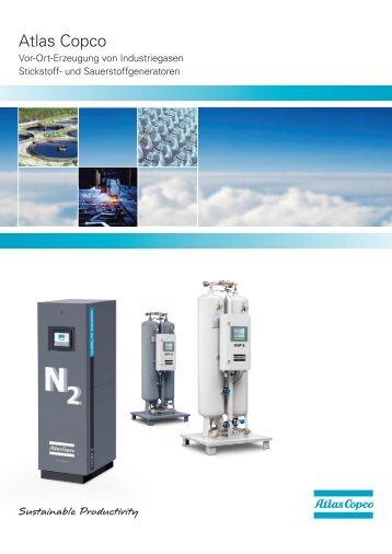 Stickstoff- und Sauerstoffgeneratoren - Atlas Copco