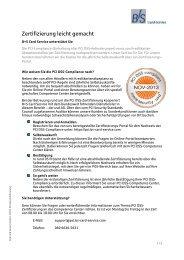 BS Informationen PCIDSS.pdf - B+S Card Service GmbH