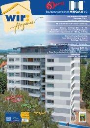 Ausgabe 2 / 2013 - Baugenossenschaft Hegau eG