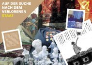 In Search of the Lost State - Historisches Institut