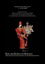 Tagungsprogramm - Historisches Institut - Universität Bern