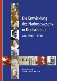 Die Entwicklung des Narkosewesens in Deutschland