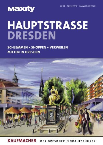 HAUPTSTRASSE DRESDEN - Knüpfer Verlag GmbH