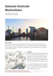 Faktenblatt | PDF-Datei 582 KB - Düsseldorf Realestate
