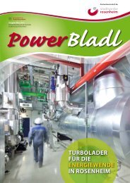 Powerbladl 40 - Stadtwerke Rosenheim