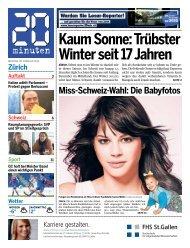 Kaum Sonne: Trübster Winter seit 17 Jahren - 20 Minuten