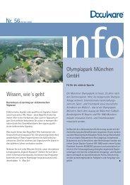 Wissen, wie´s geht Olympiapark München Gmbh - bmd Gmbh