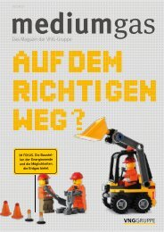 Das Magazin der VNG-Gruppe - Verbundnetz Gas AG
